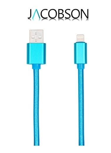 J2 Örgü Iph 5/6/7 USB Şarj ve Data Kablosu-Jacobson